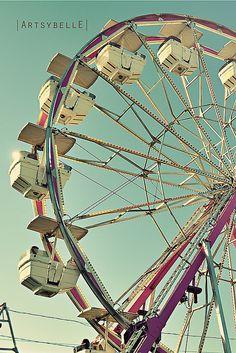 Ferris Wheel at the Sonoma-Marin Fair