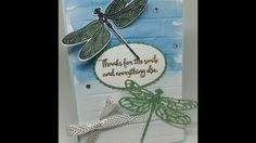 #8 Spring & Summer Sunday Beautiful embossed & Water colored card