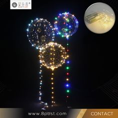 Confession Balloon Christmas Wedding Birthday Party Decoration LED Wave Balloons Valentine's day