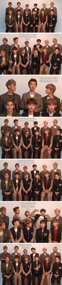 The stroy of Luhan and the giants