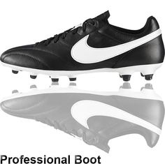 hot sale online 5fe26 a84de The Football Nation Ltd - Nike Premier FG - Black White,  99.00 (