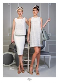 Pure white sensational outfits... Dresses For Work, Formal Dresses, Ss 15, Pure White, Peplum Dress, Pure Products, Outfits, Collection, Fashion