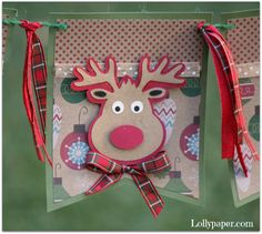 Christmas Banner - Be Jolly by Lollypaper on Etsy