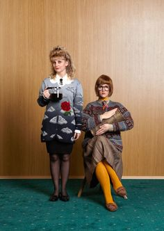 18 fantastic halloween costumes for '90s girls - Log Lady from Twin Peaks