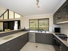 Modern galley kitchen design using tiles - Kitchen Photo 410253