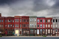 Baltimore Rowhouses   by crabsandbeer (Kevin Moore)