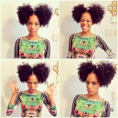 Afro puffs rock!