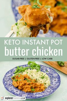 Low Carb Chicken Recipes, Low Carb Recipes, Healthy Recipes, Curry Recipes, Butter Chicken, Pressure Cooker Recipes, Keto Dinner, Dinner Recipes, Dinner Ideas