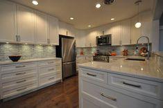 Quartz Kitchen Countertops, Granite Kitchen, Kitchen Backsplash, Backsplash Ideas, Kitchen And Bath, New Kitchen, Kitchen Decor, Kitchen Ideas, Kitchen Inspiration