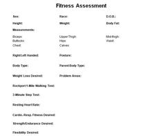 Sample personal training contract hashdoc personal training fitness assessment check list for personal trainers to record your clients results thecheapjerseys Gallery