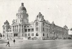 The Town Hall, from the Royal Hotel, Durban. I Am An African, My Heritage, Town Hall, African History, Back In The Day, Historical Photos, East Coast, South Africa, Louvre
