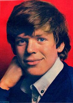 Peter Noone ~ Born Peter Blair Denis Bernard Noone 5 November 1947 (age 68) in  Davyhulme, Lancashire, England. English singer-songwriter, guitarist, pianist and actor, best known as Herman of the successful 1960s pop group Herman's Hermits.