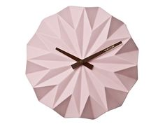Origami clock (present time)