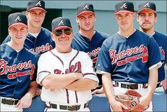 Braves 90's pitching staff.  Unstoppable