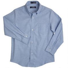 French Toast Boys' Long Sleeve Oxford Dress Shirt: Made from our wrinkle no more fabric, the oxford shirt provides a crisp look. An expandable button-down collar is adjustable for maximum comfort about the neck. Button Down Dress, Button Down Shirt, Boys Uniforms, Uniform Shirts, French Toast School Uniforms, Oxford White, Long Sleeve Shirt Dress, Dress Shirt
