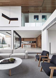 Minimalistisch einrichten – 17 moderne Wohnzimmer mit reduziertem ...