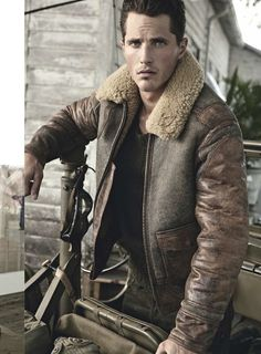 ♂ masculine and elegance men's fashion winter apparel military inspired jacket