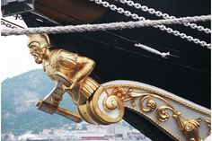 Image detail for -Tall Ships: figurehead-of-barquentine-