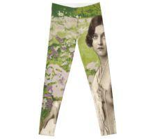 'Glamour Girl Garden' by Maggiedolly Garden S, Pajama Pants, Pajamas, Glamour, Leggings, People, Fashion, Pjs, Moda