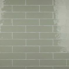 Inspire a stylish sanctuary inside your home with the selection of this Merola Tile Chester Sage Ceramic Wall Subway Tile. Offers lasting durability. Green Subway Tile, Subway Tile Colors, Tile Projects, Ceramic Wall Tiles, Bathroom Wall, Bathroom Ideas, Tiled Bathrooms, Basement Bathroom, Bathroom Designs