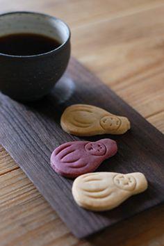 ひめだるまクッキー(princess dharma cookie)