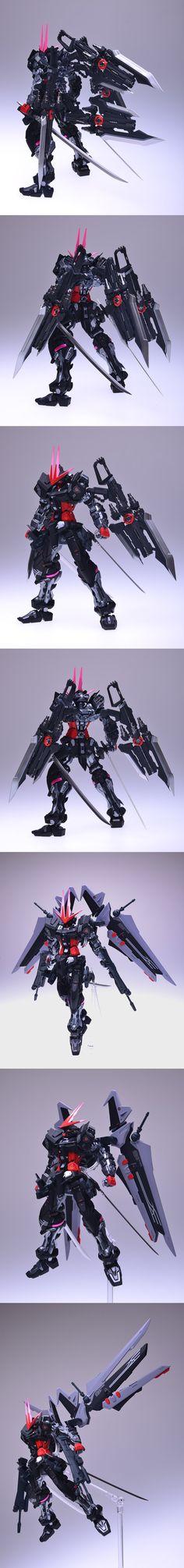 MBF-P0X Gundam Astray Noir: Custom by Kourai80