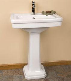 Sink Wrap For Pedestal Sink : pedestal sink