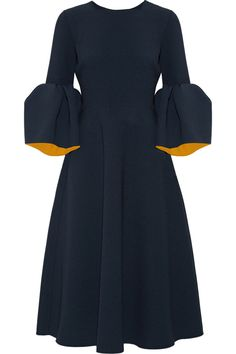 Roksanda | Yasmin bonded stretch-crepe midi dress | NET-A-PORTER.COM