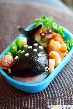 25 Must See Kids Lunch Ideas For Bento Boxes - Fun food to make - Kawaii Bento, Bento Box Lunch For Kids, Lunch Ideas, Cute Bento Boxes, Bento Ideas, Lunch Boxes, Cute Food, Good Food, Food Art Bento