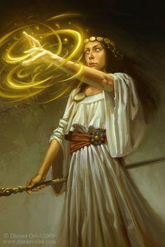 The Priestess by capprotti.deviantart.com on @deviantART