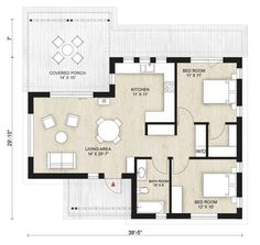 Nine Bedroom House Plans Awesome Cabin Style House Plan 2 Beds 1 00 Baths 780 Sq Ft Plan House Plan With Loft, Modern House Plans, Small House Plans, Small Floor Plans, Cabin Floor Plans, Cabin Design, Tiny House Design, Casa San Sebastian, 1000 Sq Ft House
