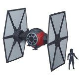 Star Wars The Force Awakens 3.75-inch Vehicle First Order Special Forces TIE Fighter - http://shopattonys.com/star-wars-the-force-awakens-3-75-inch-vehicle-first-order-special-forces-tie-fighter/