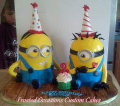 My minion cake.