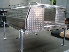 Lift Off Tray Tool Boxes Melbourne Car Hauler Trailer, Trailer Tent, Trailers, Custom Truck Beds, Custom Trucks, Camper Caravan, Campers, Bed Tool Box, Ute Canopy