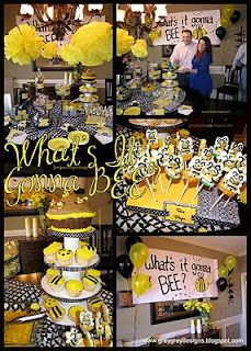 what's it going to bee? gender reveal party (GreyGrey Designs)