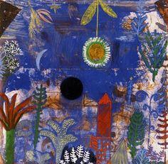 "bluart106: "" Paul Klee, Versunkene Landschaft, 1918 """