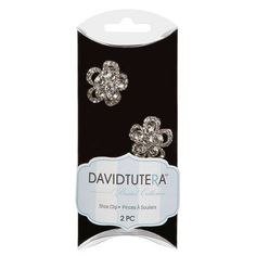 Bulk Buy: Darice DIY Crafts David Tutera Shoe Clips Crystal Rhinestone 2 pieces (3-Pack) DT1823 >>> You can get additional details at the image link.