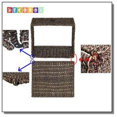 DecoBox海草收納盒( 1 個 )(麵包籃,衣物收納)