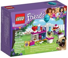 LEGO Friends 41112 - Party Cakes #lego #legofriends #legofriends2016