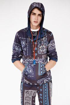 Shane Gibson by Josh Olins for Opening Ceremony x adidas Originals Fall/Winter 2012 Lookbook (Styling by: Jay Massacret) #Fashion #Style #Model #Menswear #OpeningCeremony #adidas