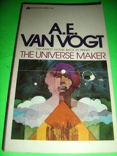 A.E. VAN VOGT ~ THE UNIVERSE MAKER ~ ACE PB BOOK