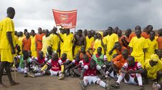 """This isn't a typical sports interview, but then again this isn't a typical sporting fixture either. Benon has just secured his team's place in the final of Uganda's most sophisticated prison #soccer tournament, an event that's known not just for its high-quality soccer but also the remarkable part it plays in Uganda's ability to boast the lowest recidivism rate in the whole of Africa.  From """"Rehabilitation, Spies & Goals at Uganda's Lone Maximum Security Prison"""""""