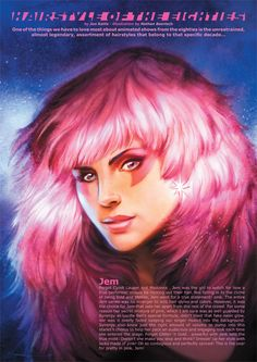 cartoons jem Weird And Awesome Jem (And Misfits) Fan Art Favorite Cartoon Character, Comic Character, Best 80s Cartoons, Lady Lovely Locks, 80 Tv Shows, Jem And The Holograms, Saturday Morning Cartoons, Barbie, Wedding Humor