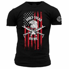 Lil Red Danger - Don't Tread On Me Grunt Style, Dont Tread On Me, Red, Mens Tops, T Shirt, Black, Fashion, Supreme T Shirt, Moda