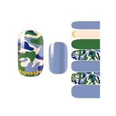 Set of 3 New Design Camouflage Color Nails Stickers Waterproof Pasters >>> Learn more by visiting the image link.