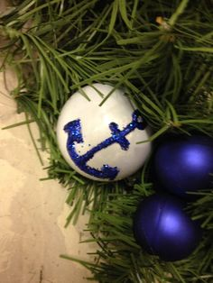 Designed my own ornaments for wreaths.. Love Mod Podge!!