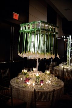 This is honestly one of the most unique and beautiful centerpieces I've seen!