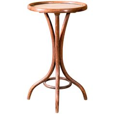 Thonet Bent-Wood Side Table | From a unique collection of antique and modern side tables at http://www.1stdibs.com/furniture/tables/side-tables/