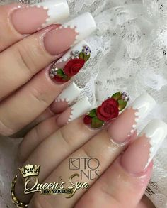Opting for bright colours or intricate nail art isn't a must anymore. This year, nude nail designs are becoming a trend. Here are some nude nail designs. Cute Acrylic Nails, 3d Nails, Cute Nails, Pretty Nails, Ballerina Nails, Elegant Nails, Gorgeous Nails, Nail Trends, Christmas Nails