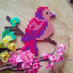 Bird hama perler beads by tamatek